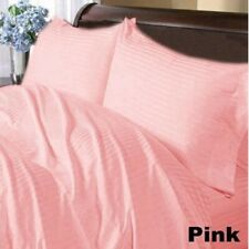Comfort Duvet Collection 100% Cotton 1000 TC Select US Size Pink Striped