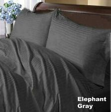 Comfort Duvet Collection 100% Cotton 1000 TC Select US Size Gray Striped