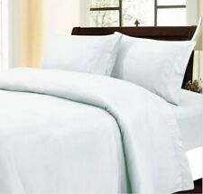 Comfort Duvet Collection 100% Cotton 1000 TC Select US Size White Solid