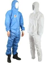 5 PCS Unisex Disposable Virus Protection & Chemical Protective Coveralls - Pro