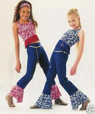Blue Version Foil STARZ Cowgirl Dance Costume SZ CHOICE