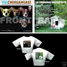 The Beatles Dog Themed T Shirt - Gifts - Chihuahuas