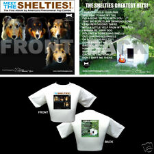 The Beatles Dog Themed T Shirt - Gifts - Shelties