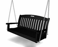 Polywood Outdoor Furniture Nautical 4 ft Porch Swing