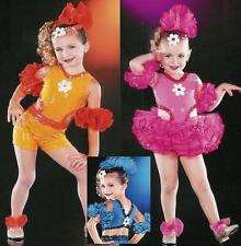 GOOD TIMES Dance Costume SHORTS & TUTU Choose COLOR &SZ
