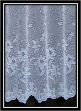 NATALIE WHITE NET CURTAIN from £1.59 per mtr