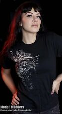 ANATOMICAL GEARS shirt STEAM PUNK GOTHIC NEO VICTORIAN