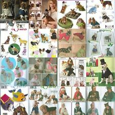Simplicity Sewing Pattern  Dog  / Cat Clothes Pet Clothing or Accessory You Pick