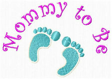 Pregnant Mom and Sayings Machine Embroidery Designs CD