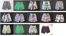 Gymboree baby boys layette shorts cargo plaid short pants spring summer 6-12 mo
