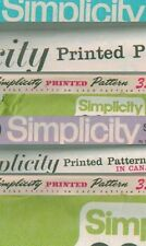 Vintage Simplicity Men's Clothes Sewing Pattern UC