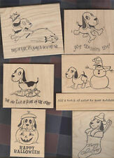Stamp N Plus Peter Pup Rubber Stamps Comical U Chose