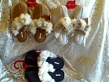 STYLE & CO FAUX FUR IN/OUTDOOR CLOG MULE SLIPPERS M XL
