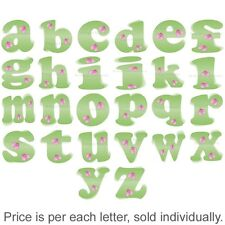 Name Wall Letters Alphabet Stickers Initial Decals Girl Decor Green Pink Ladybug