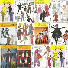 McCalls Kids Halloween Costume Sewing Pattern Uncut Boys Girls Child Child's
