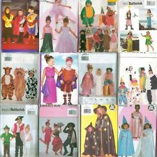 OOP Butterick Kids Halloween Costume Sewing Pattern Uncut Boys Girls Child