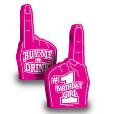 #1 Foam Hand - Bride to Be, Maid of Honor, Birthday Girl - 18 in - New