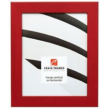 "Craig Frames Colori, 1.25"" Modern Red Picture Frame"