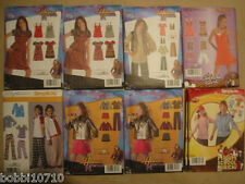 SIMPLICITY GIRLS & GIRLS PLUS SIZE PATTERNS SZ 8-16 14 STYLES U PICK FREE SHIP