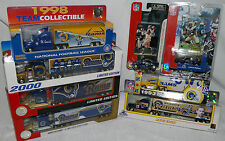 NEW NFL ST. LOUIS RAMS Die cast Truck Trailer Collectibles 1993 TO 2002