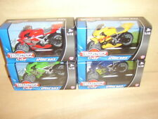 Teamsterz City Speed Bike.1.18 Scale. 4 to collect. New boxed.