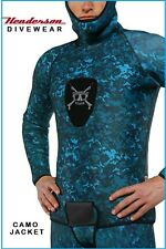 Henderson Free Dive 3mm Wetsuit Camouflage Spearfishing Wetsuit Jacket