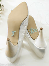 Bride I Do Shoe Stickers or Groom She's Mine Shoe Stickers Wedding Supplies