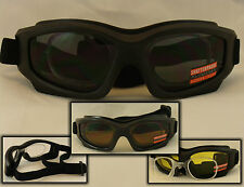MOTORCYCLE GOGGLES  RX ADAPTER PRESCRIPTION INSERT CHOICE LENS COLOR 1 PR #G03