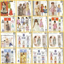 McCalls Sewing Pattern Little Girls Dress Spring Special Occasion Holiday