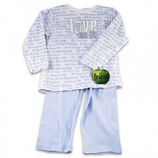 Beatles Love ME Do Long Sleeve Shirt and Pants Set  Blue   Sizes 2T 3T 4T