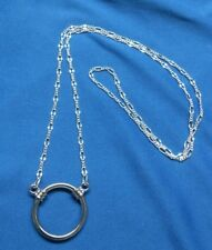 Eyeglass Holder Figaro Chain Necklace -- you choose Loop style and size