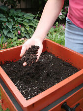 worm factory vermiculture compost bin 3 tray recycle home garden