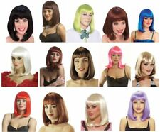 Adult Womens 50's Deluxe Peggy Sue Short Straight Costume Wig Hair Drage NEW