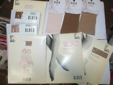 NEW BLOCH BALLET FOOTED TIGHTS PINK LT TAN CHILD ADULT