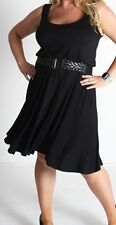 PLUS SIZE 1X & 3X - SIMPLY LOVELY Elle Dress-avail in 3 colours -see variation