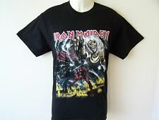 *NEW* OFFICIAL IRON MAIDEN NUMBER OF THE BEAST MENS BLACK T SHIRT SIZES S M L XL