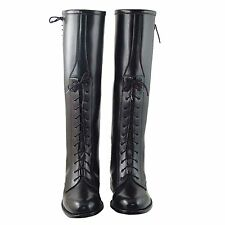 New DYNO Mens Motorcycle Riding Police Patrol Fashion Leather Boots All Sizes