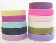 Organza Ribbon  - 20mm  - 10 mtrs - Choose Colour