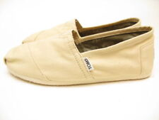 MENS TOMS CLASSIC CANVAS SLIP ON NATURAL BEIGE