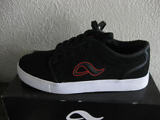 NIB NEW ADIO INDY BLACK-RED SKATE ATHLETIC SHOES SZ 7.5