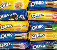 Nabisco Oreo Creme Filled Sandwich Cookies Oreos ~ One Package