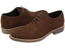 "NIB  NEW  Type Z ""FRESH "" Men's PREMIUM SUEDE LEATHER  OXFORD SHOES DR BROWN"