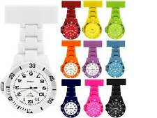 Prince London NY Coloured Plastic Toy Style Mens Ladies Nurses Fob Watches