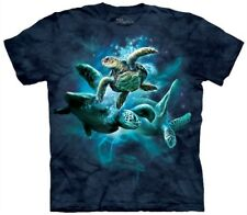 Sea Turtle Collage Tee T Shirt Adult by The Mountain