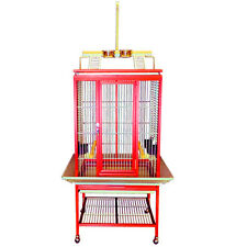 KINGS CAGES ALUMINUM PARROT CAGE ACP2522 RED cages bird  conure toy toys amazon