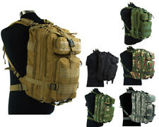 Airsoft Tactical Molle MOD Hydration Assault Backpack Bag Pouch Camping Hiking B