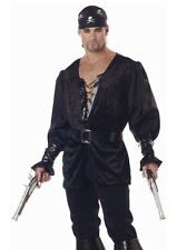 Mens New Male Buccaneer Pirate Caribbean Outfit Costume