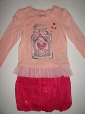 NWT Gap 4T 5T/Years Holiday Wonderland Tulle Hearts Love T-shirt+Sequin Tulle Bu