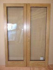 Pre-finished Oak Double Glazed External Wooden Timber French Door Pairs Frame