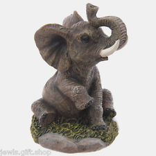 elephant figure wild animal ornament choice of 6 girls boys women childs
